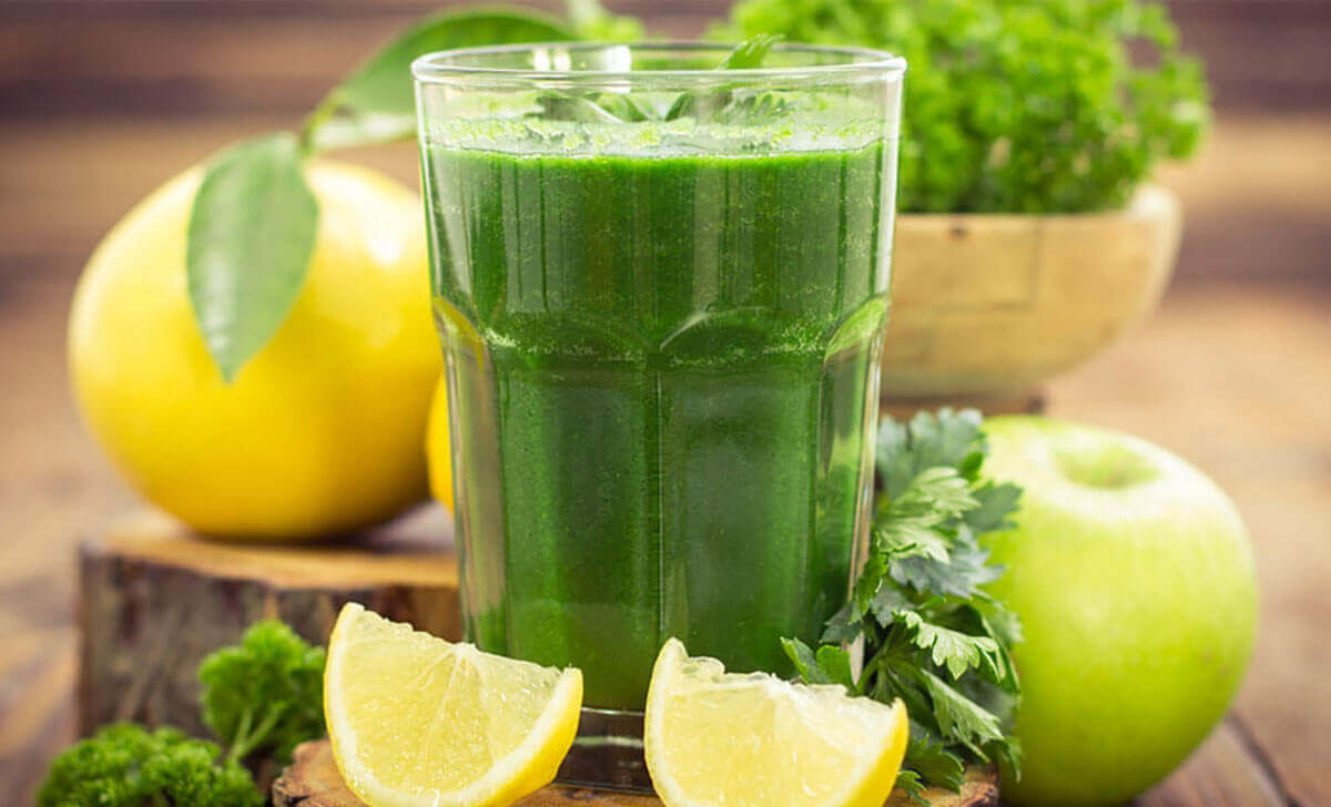 Green Juice With Lime