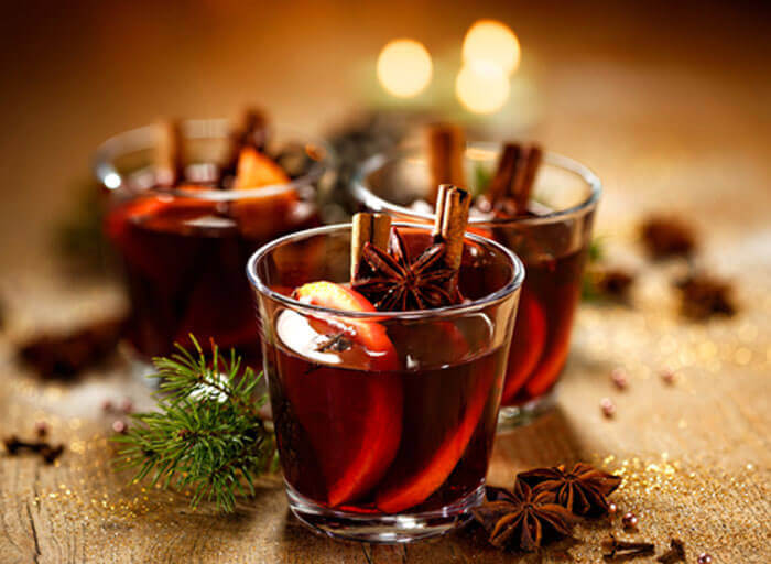 Spiced Winter Mulled Wine